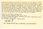 William Kemmler Index Card 2
