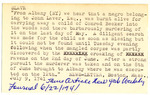 Albany Slave Index Card 2