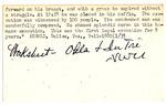 Chester Dixon Index Card 2